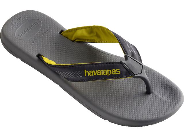 havaianas Surf Pro - Sandales Homme - gris
